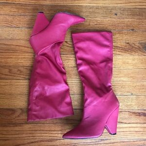 Shoes - Red heeled boots